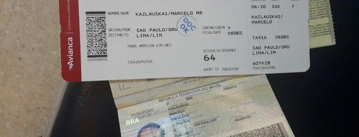 Check-in Taca is one of Aeroporto de Guarulhos (GRU Airport).