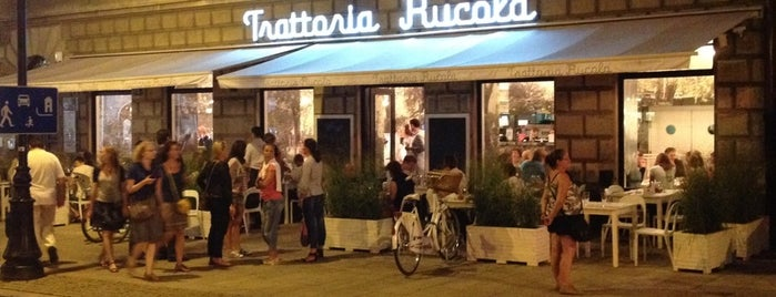 Trattoria Rucola is one of Favorite Dining in Warsaw.