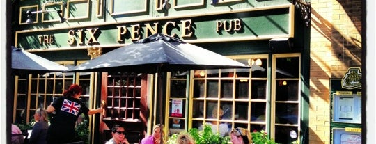 Six Pence Pub is one of Mel's Faves :).