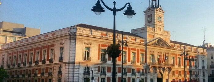 Madrid lugares d inter s for Sede de la presidencia de la comunidad de madrid
