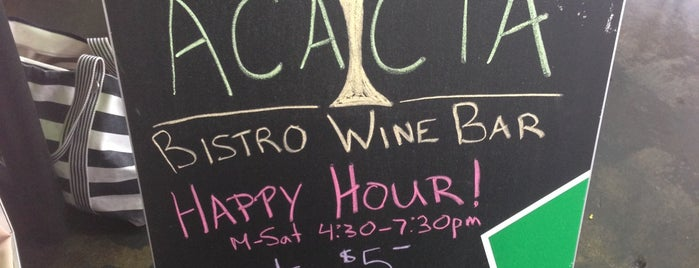 Acacia Bistro is one of DC.