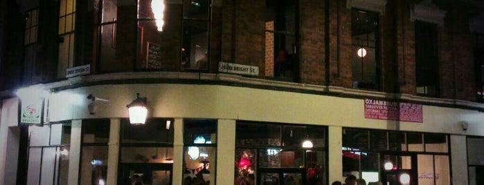 Cherry Reds Café Bar is one of Birmingham.