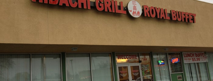 Hibachi Grill & Buffet is one of Lincoln 1.