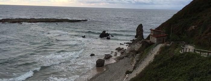 Playa Amio is one of Guía de Cantabria.