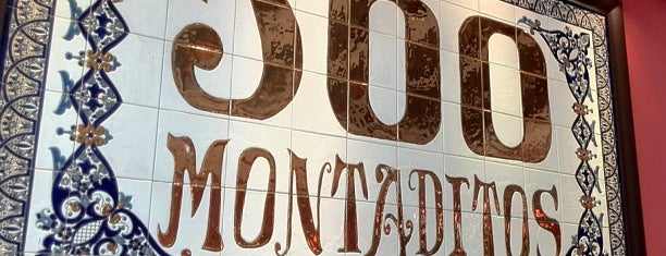 100 Montaditos is one of My Favorite restaurants :).