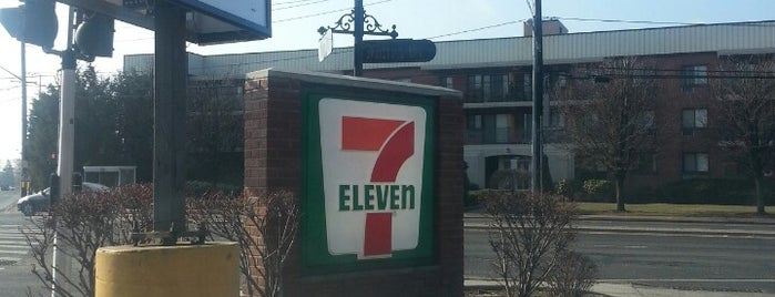 7-Eleven is one of been here.