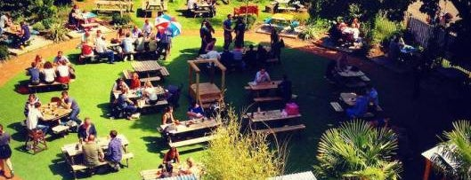 The People's Park Tavern is one of London's Best Beer Gardens.