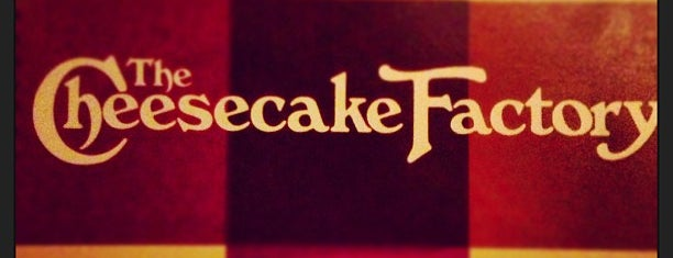 The Cheesecake Factory is one of FOOD in Dallas-Ft Worth Metroplex.