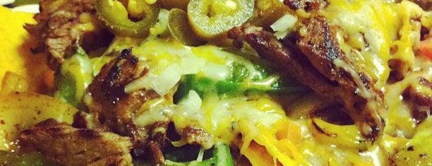 La hacienda is one of Food.