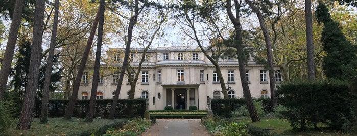 Haus der Wannsee-Konferenz is one of Berlin.