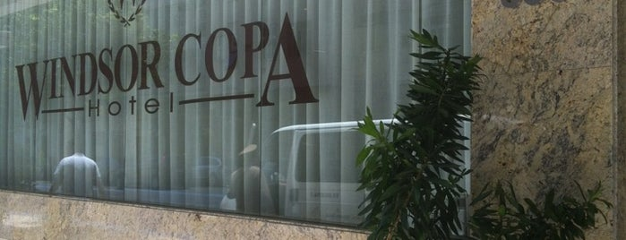 Windsor Copa Hotel is one of Rio de Janeiro.