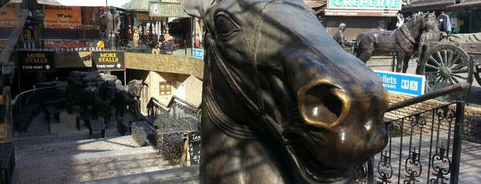 Camden Stables Market is one of Places to Visit in London.