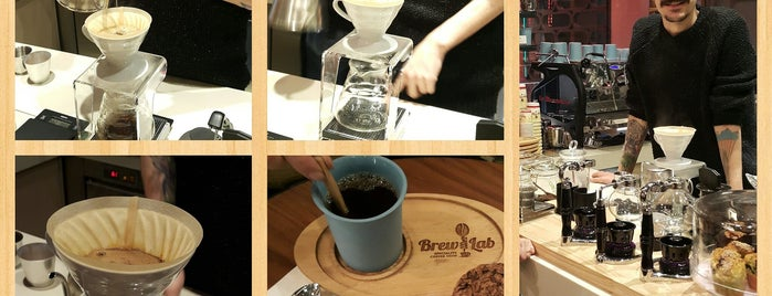 Coffee Brew Lab is one of yeme içme.