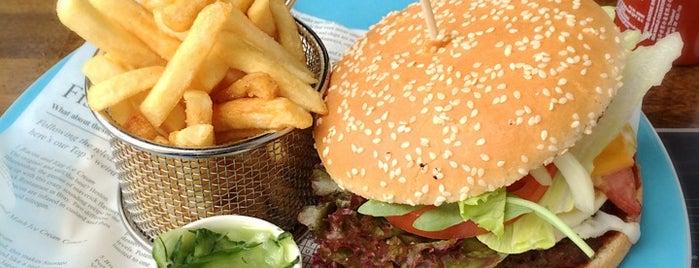Burgerheaven is one of Berlins Best Burger.