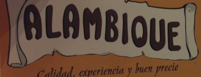Alambique is one of Menus en el Centro de Marbella.