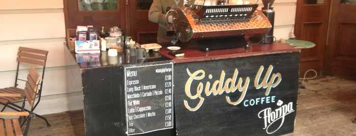 Giddy Up Floripa is one of London's Best Coffee.