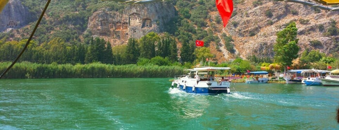 Dalyan Tekne Turu is one of South-West of Turkey.