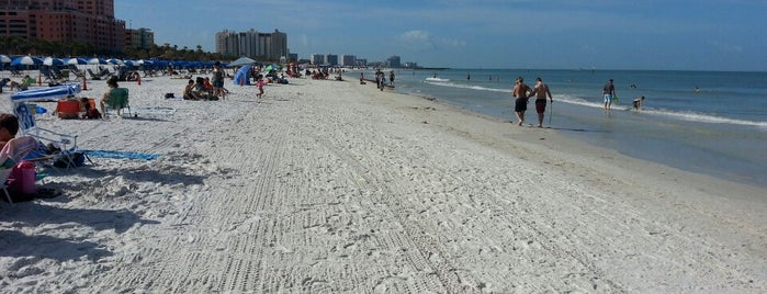 Clearwater Beach, FL is one of Work.