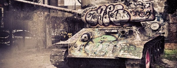 The Russian T-34 Tank is one of London // Quirky.