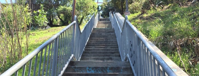 Avalon East Steps is one of Cool things to see and do in Los Angeles.
