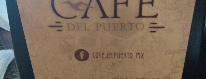 Café del Puerto is one of Rumbo a Playa del Carmen.
