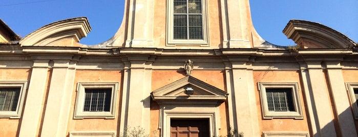San Francesco a Ripa is one of 101 cose da fare a Roma almeno 1 volta nella vita.