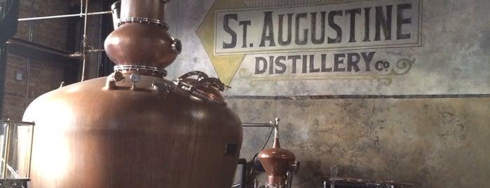 St. Augustine Distillery is one of My favorites!.