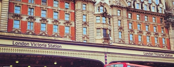 London Victoria Railway Station (VIC) is one of M!.