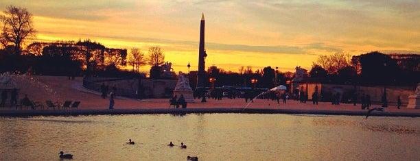 Bassin Octogonal is one of Parcs, jardins et squares - Paris.