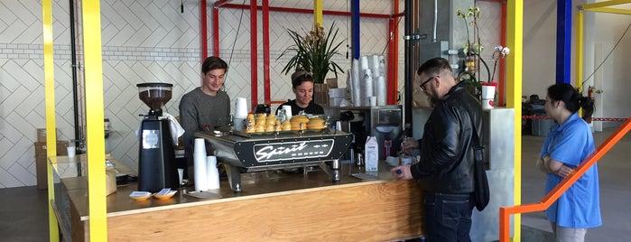 CRO Coffee is one of San Francisco Caffeine Crawl.