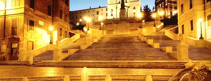 Piazza di Spagna is one of Luci di Roma.
