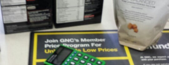 GNC is one of All-time favorites in United States.
