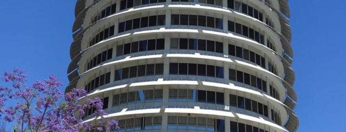 Capitol Records is one of Layover: LAX/KLAX.
