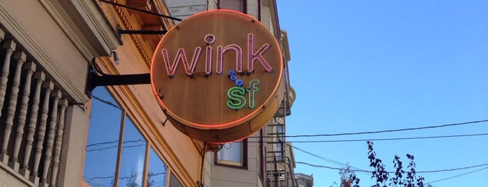 Wink SF is one of My favourite places in SF.