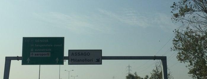 A7 - Assago-Milanofiori is one of A7 Milano-Genova.