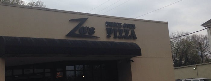 Za's Brick Oven Pizza is one of Tina's fav dining spots.