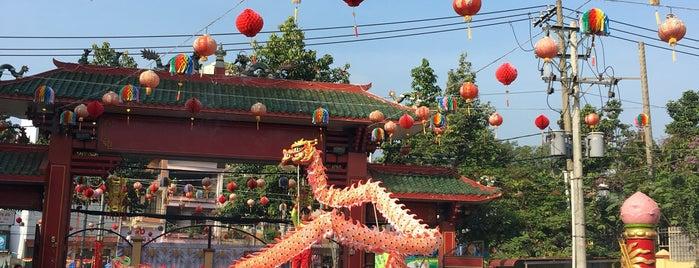 Chua ba Binh Duong is one of du lịch - lịch sử.