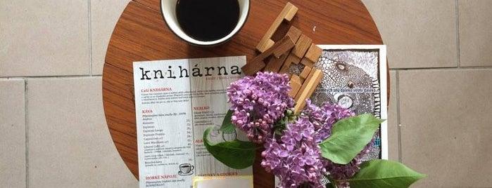 Café Knihárna is one of Cafés.