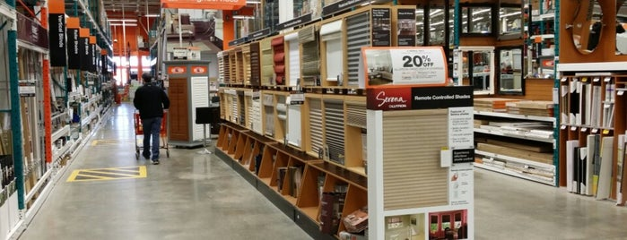 The Home Depot is one of Kitchener.