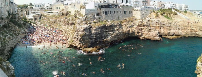 Polignano a Mare is one of South Italy.