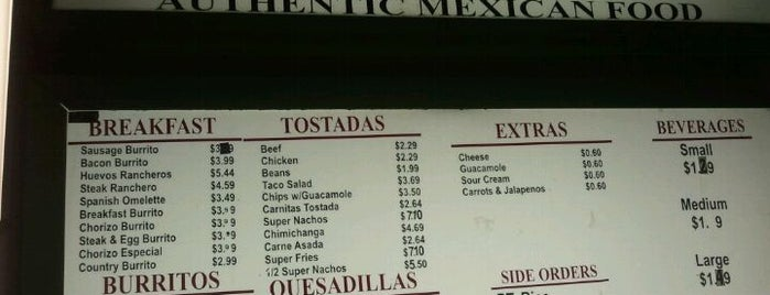 Abelardo's Mexican Fresh is one of Drunk Mood Food.