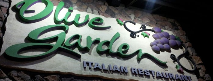 Olive Garden is one of FAVORITES.