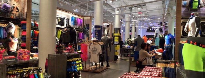 Under Armour is one of NYC - Stores.