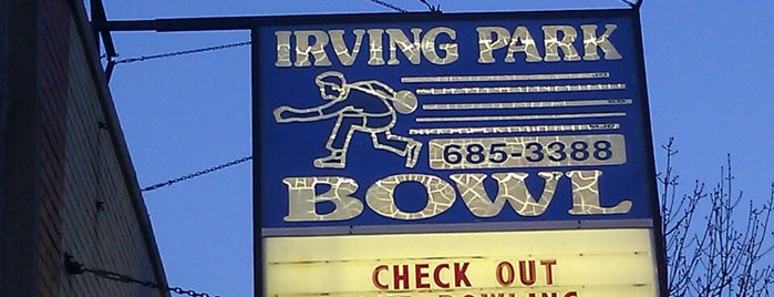Irving Park Lanes is one of Random.