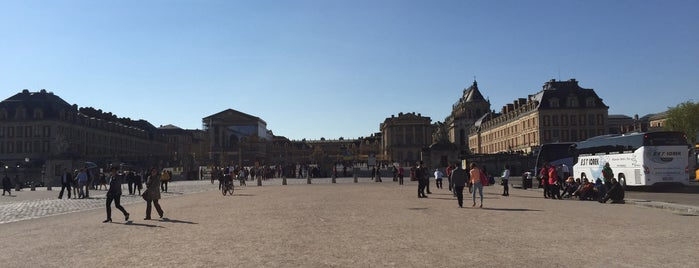 Versailles is one of France.