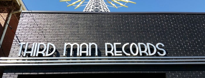 Third Man Records is one of A Weekend Away in Nashville.