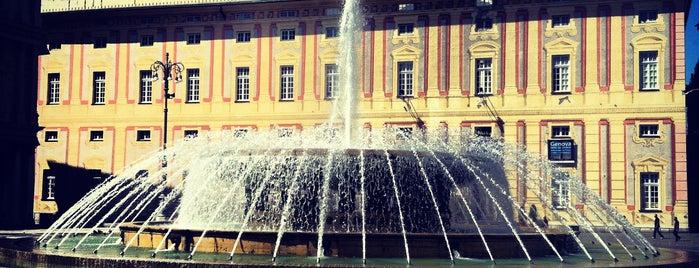 Piazza De Ferrari is one of √ Best Tour in Genova.