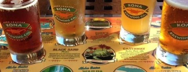 Kona Brewing Co. is one of Molokai Cowgirls - Horses in Hawaii.
