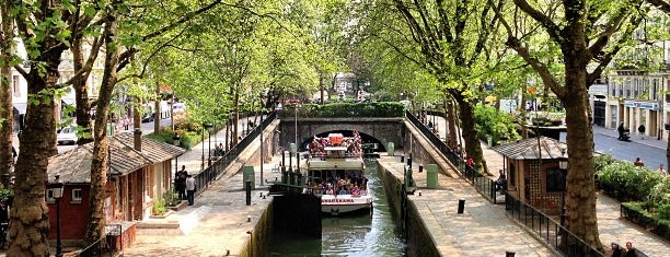 Canal Saint-Martin is one of Paris // For Foreign Friends.