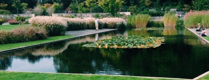 Les Jardins du Fleuriste is one of That's Brussels.